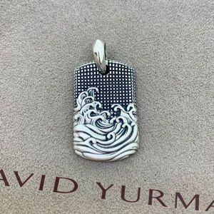David Yurman Wave Tag